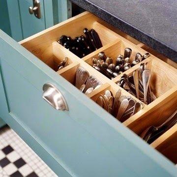 17 mejores ideas sobre almacenamiento de cubiertos en pinterest ...