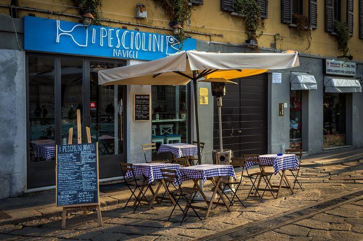I Pesciolini Navigli | by Niklas Rosenberg #Milan #Navigli #Italy
