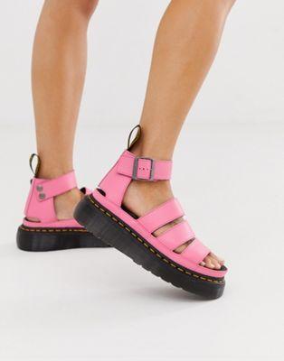 Dr Martens Clarissa II quad sandals in