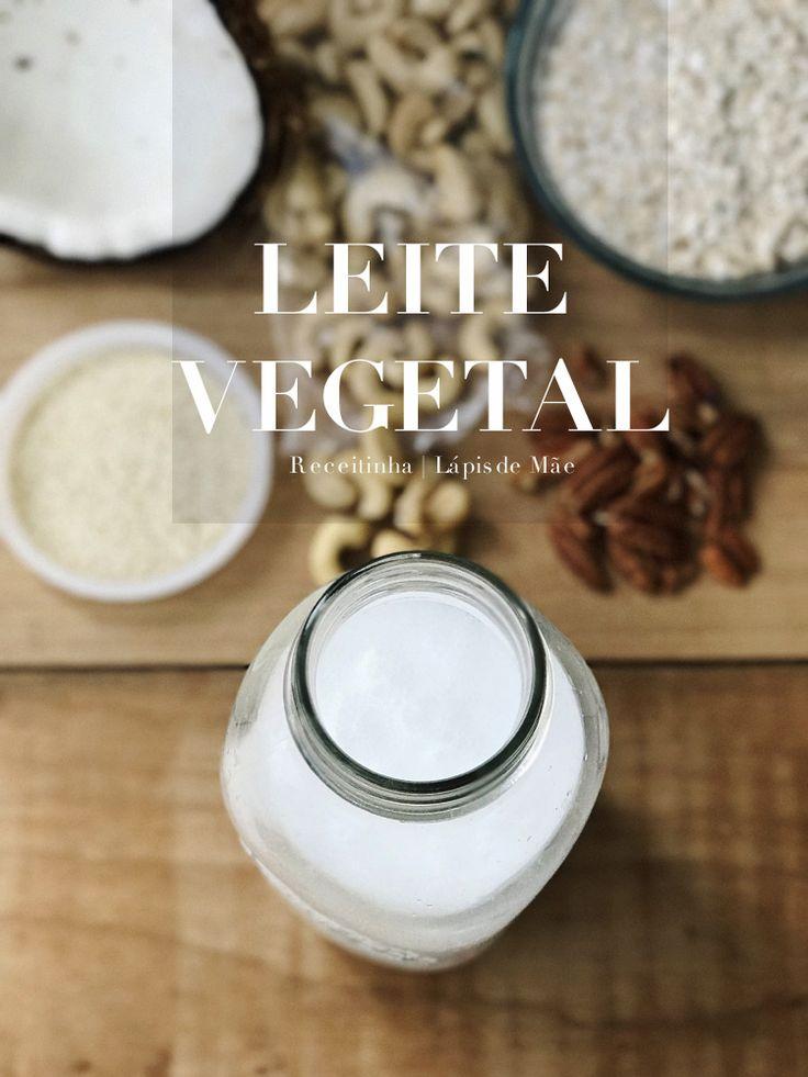 {Receitinhas} Como fazer Leite Vegetal rápido e fácil