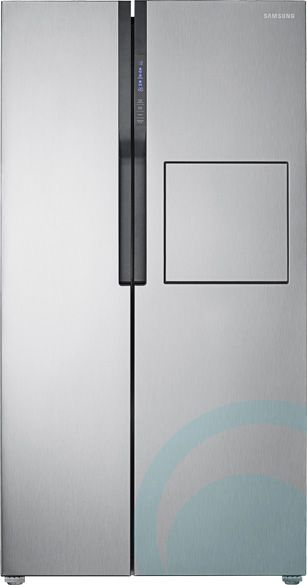603L Samsung Side By Side Fridge SRS603HLS | Appliances Online |