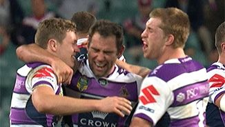 Roosters 18 v Storm 20
