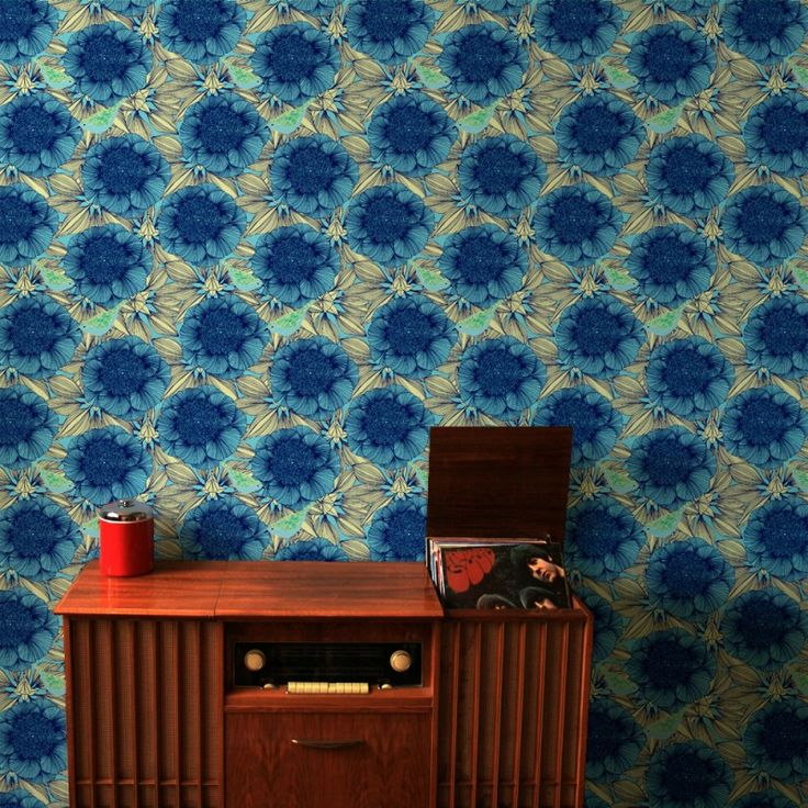 Victora in Dark Blue | www.wallpaperantics.com.au