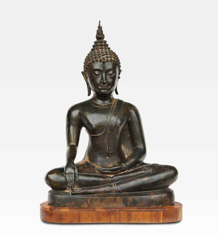 Bronze Gautama Bouddha, Thaïlande