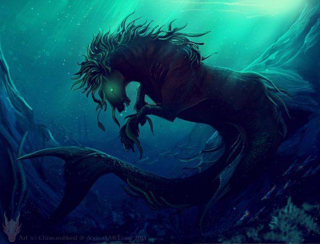 Ser mitológico? Turista flagra criatura marinha misteriosa em caverna na Grécia