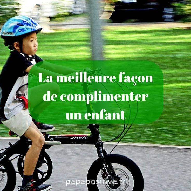 Le compliment est à la base des progrès d'un enfant et de la construction de son estime personnelle. Afin de faire comprendre les enjeux de complimenter de la meilleure façon, je vais citer «Parents épanouis, enfants épanouis» d'Adele Faber et Elaine Mazlish :  «L'image qu'un enfant se fait de lui-même est comme du ciment …