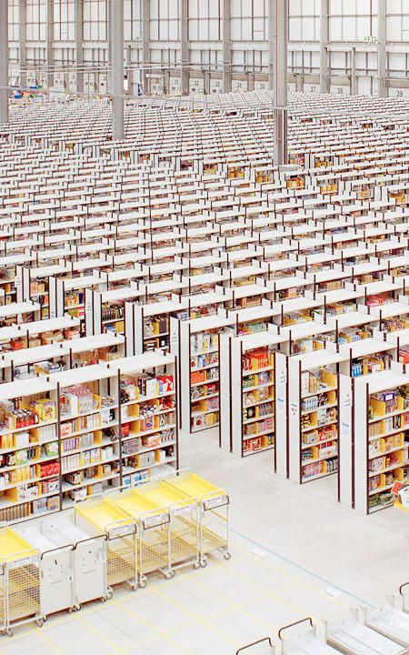 Think Your Office Is Soulless? Check Out This Amazon Fulfillment Center