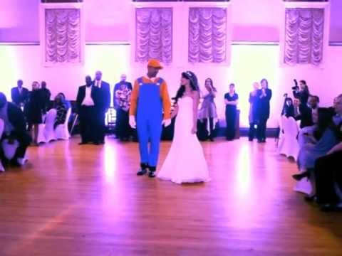 Best Wedding Dance Ever Super Mario Surprise When Your Groom Is A Game Lover Of Nintendo This Cute Idea For Reception