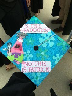 """SpongeBob Graduation Cap """"Ist das ein Abschluss?"""" """"Nein, das ist Patrick!"""" #Closing #Spongebob"""