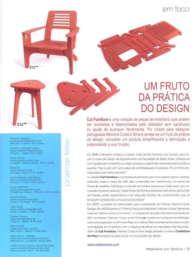 Cut Furniture por Mariana Costa e Silva