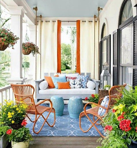 25 Wonderful Balcony Design Ideas For Your Home: Best 25+ Summer Porch Decor Ideas On Pinterest