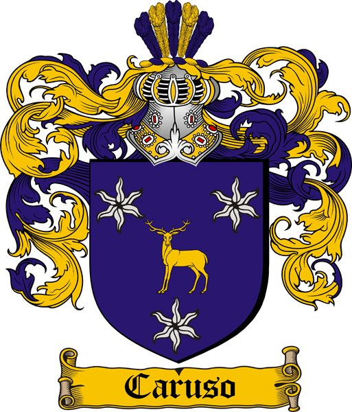 Caruso Coat of Arms