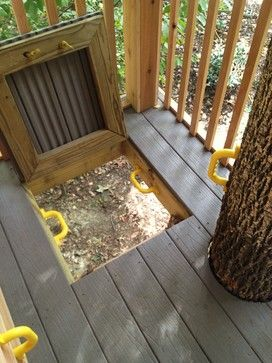 Tree House - traditional - kids - other metro - Bianco Design & Build Corp.