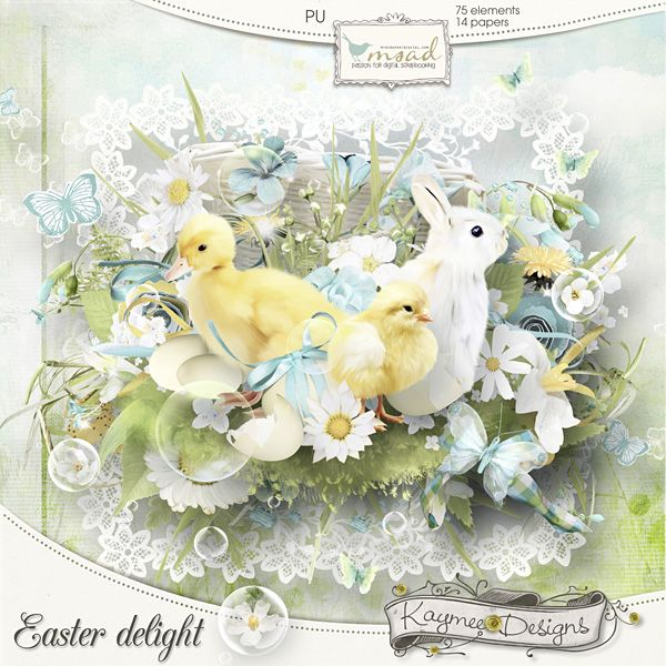 *** New ***    Easter Delight by Kaymee Designs    http://www.myscrapartdigital.com/shop/index.php?main_page=product_info=24_54_id=1229