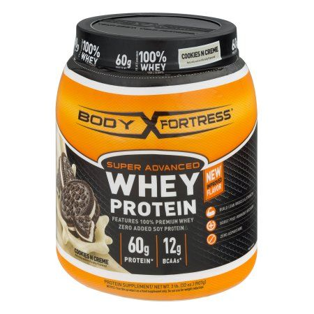 Body Fortress Super Advanced Cookies n' Creme Whey Protein Supplement, 2 lbs
