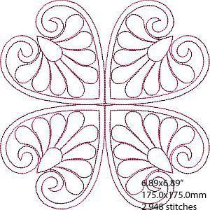 Acolchoado Wholecloth Table Topper - Designs 4 África | OregonPatchWorks
