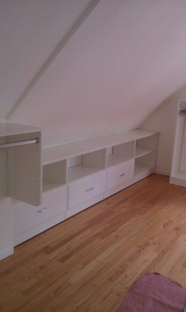 We can build an attractive storage solution for any space ...