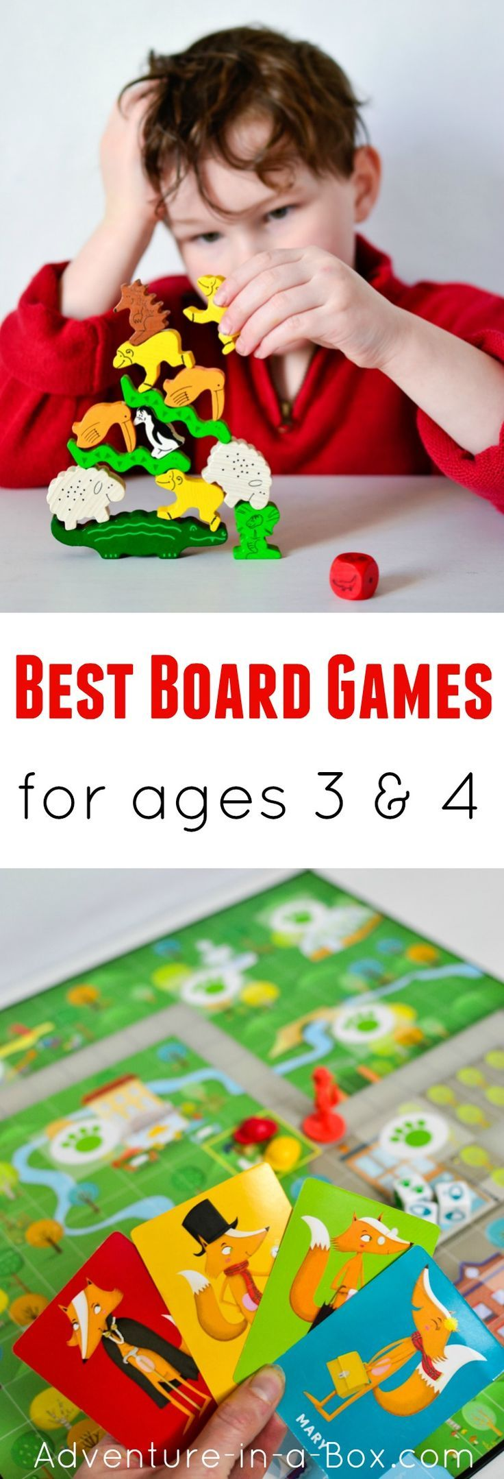 Do you like playing board games and wonder which are the best games for preschoolers - that adults will like too? Here is the list of our favourite games to play as a family with three- and four-year-olds. #kidsactivities #familyfun #homeschooling #preschool #homeschool
