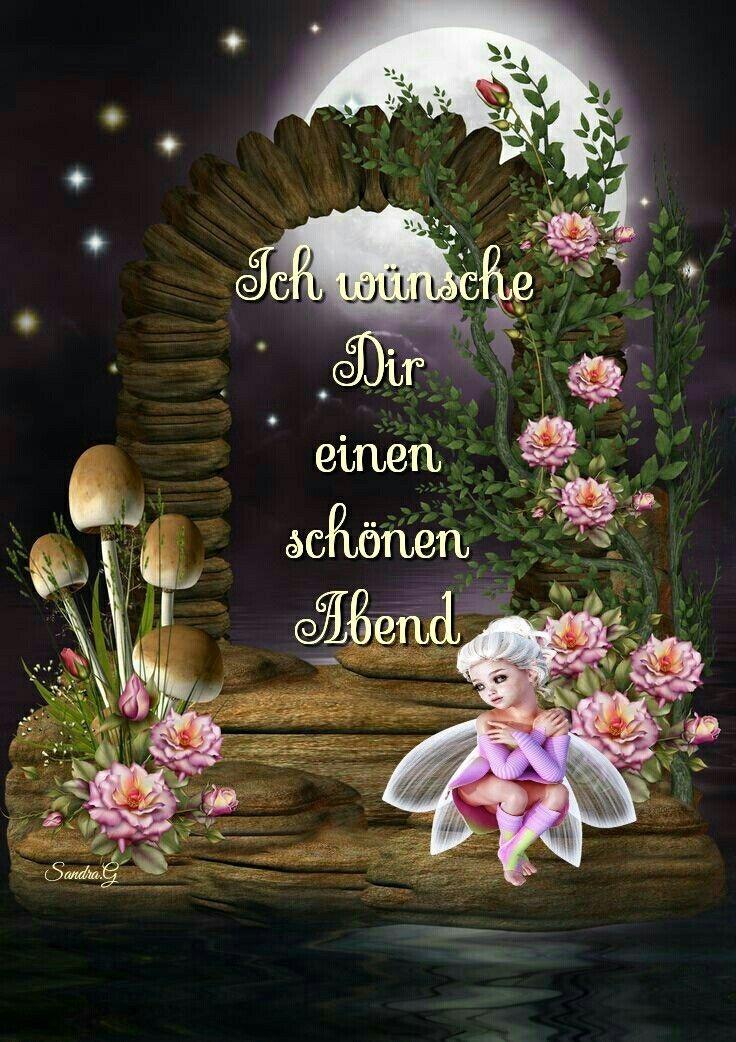 Guten abend grüße und gute nacht
