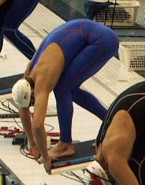 Swim workout - maybe one day, looks intense