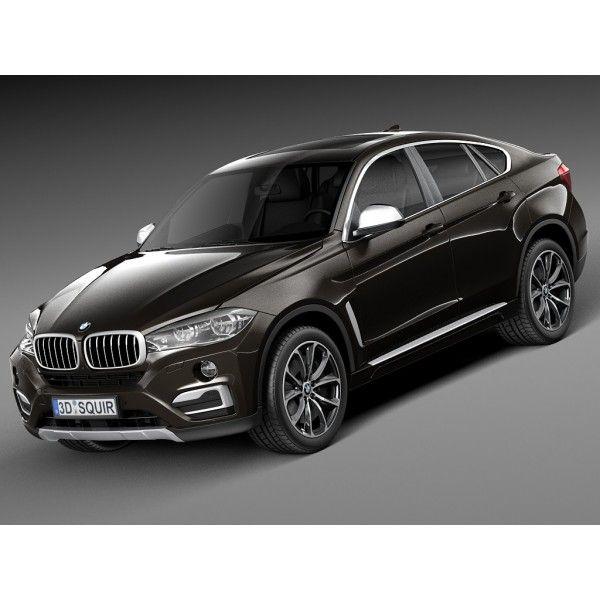 BMW X6 2015 - 3D Model