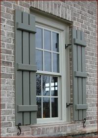 Emejing Diy Exterior Shutters Contemporary - Interior Design Ideas ...