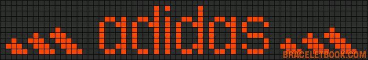 marque - make - adidas -  point de croix - cross stitch - Blog : http://broderiemimie44.canalblog.com/