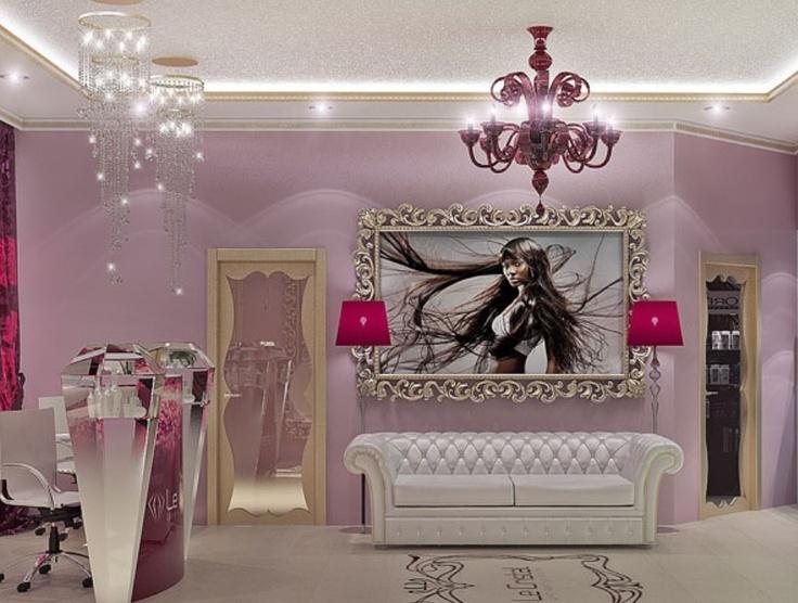 Inspiration dressing room design home closet for Hair salons open near me