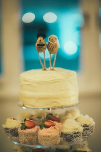 Wedding // Our Big Day // Wedding Cake // Little Bird CakeToppers