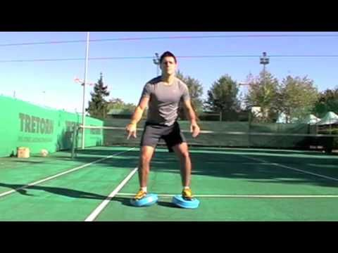 Tennis - propriocettiva - (warm up) - YouTube