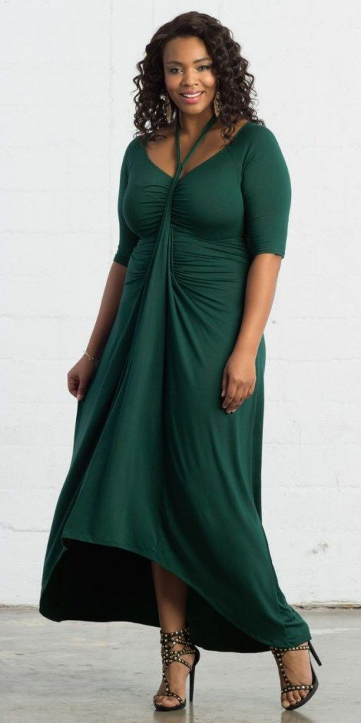 16763c7625 12 Plus Size Holiday Green Dresses  with Sleeves  - Plus Size Party Dresses  - Plus Size Fashion for Women - alexawebb.com