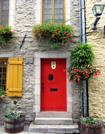 Old Vieux Quebec City Canada by Jess Peterson Photos
