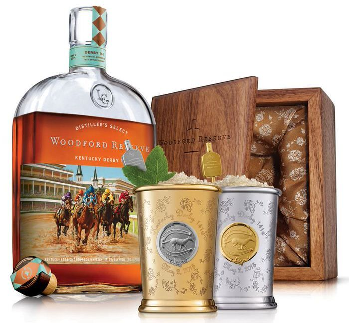 images of signature kentucky 2015 | Woodford Reserve $1,000 Mint Julep Cup For Kentucky Derby 2015