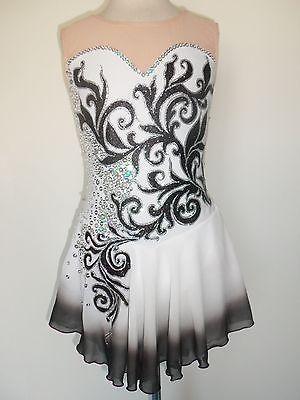 Custom Made Ice Skating Baton Twirling Dress | eBay