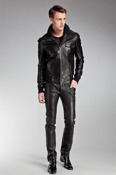 Куртка мужская осенняя кожа