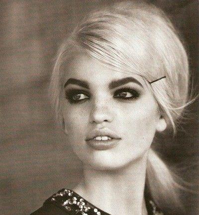 60´s hair, H model