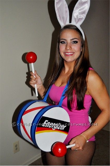 how to make the energizer bunny drum
