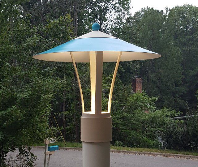 Awesome Mid Century Modern Lamp Post Light Project Lamp Post Lights Outdoor Post Lights Modern Outdoor Lamp