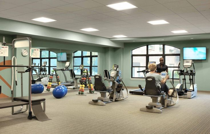 Cypress Glen Cardio And Weight Room | Senior Living Design | Pinterest |  Senior Living, Room And Exercise Rooms