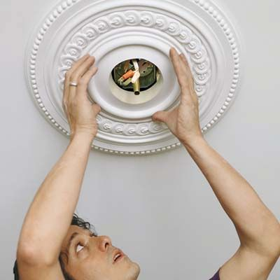 Ceiling design and decoration ideas – ceiling medallions ideas