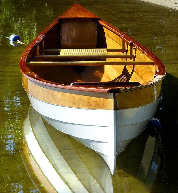 Sassafras Lapstrake Canoe at The Woodenboat School