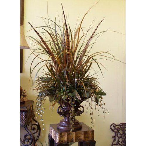 35 best tuscan flower arrangements images on pinterest for Dining room flower arrangements