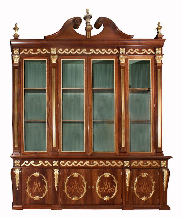 Broken Swan Neck Cabinet for interior designer, Alidad