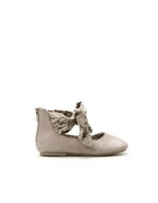 OBSESSED with all of the baby shoes from Zara!