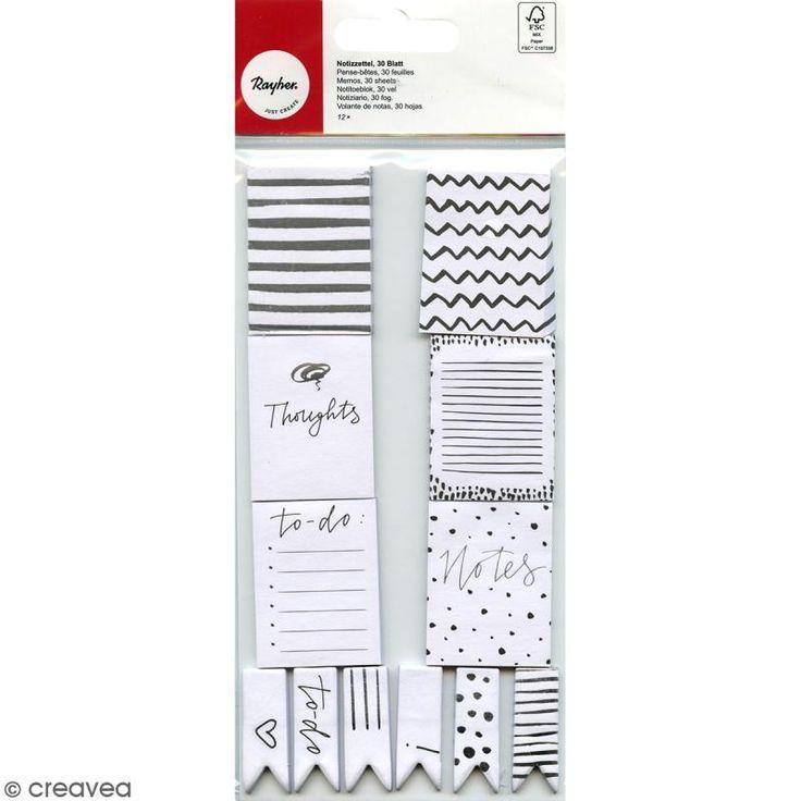 Compra nuestros productos a precios mini Set de Notas adhesivas - Plateado y negro - 12 mini bloques - Entrega rápida, gratuita a partir de 89 € !