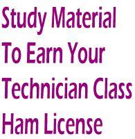 HAM study guides.