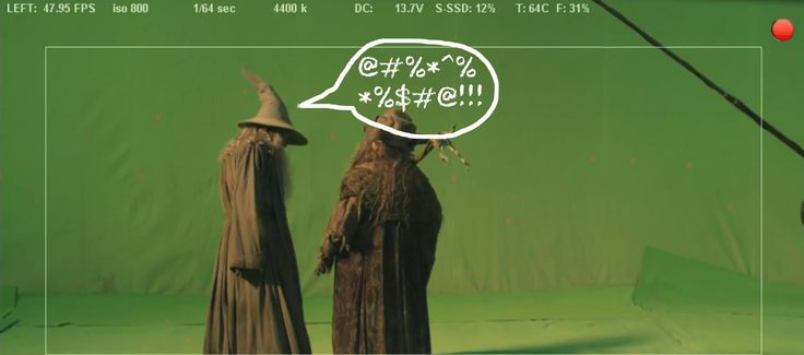 Gandalf Has a Potty Mouth and 6 Other 'Hobbit' Fan Event Discoveries: 1. Gandalf Goes Off. Yup, that's Gandalf... cursing! (From Peter Jackson)