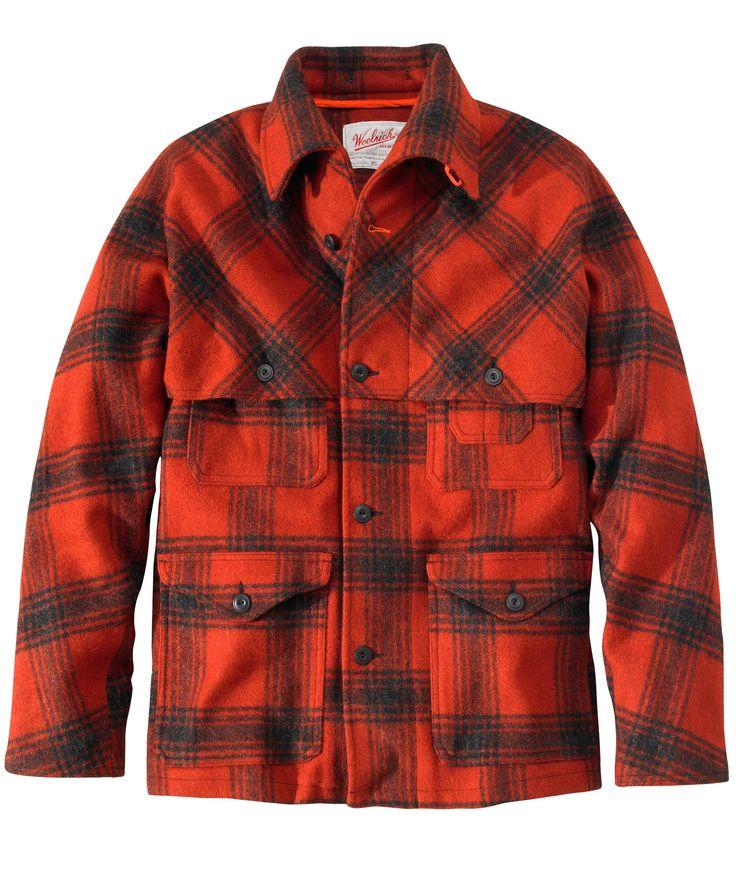 Men's Woodcutter Coat #MadeInUSA #woolrich1830