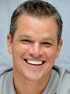 Matt Damon....family man, good dad, great actor, easy on the eyes.....altogether nice person.