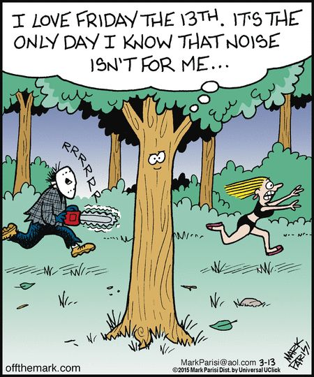 funny comics - haha, poor tree has his point - Off the Mark